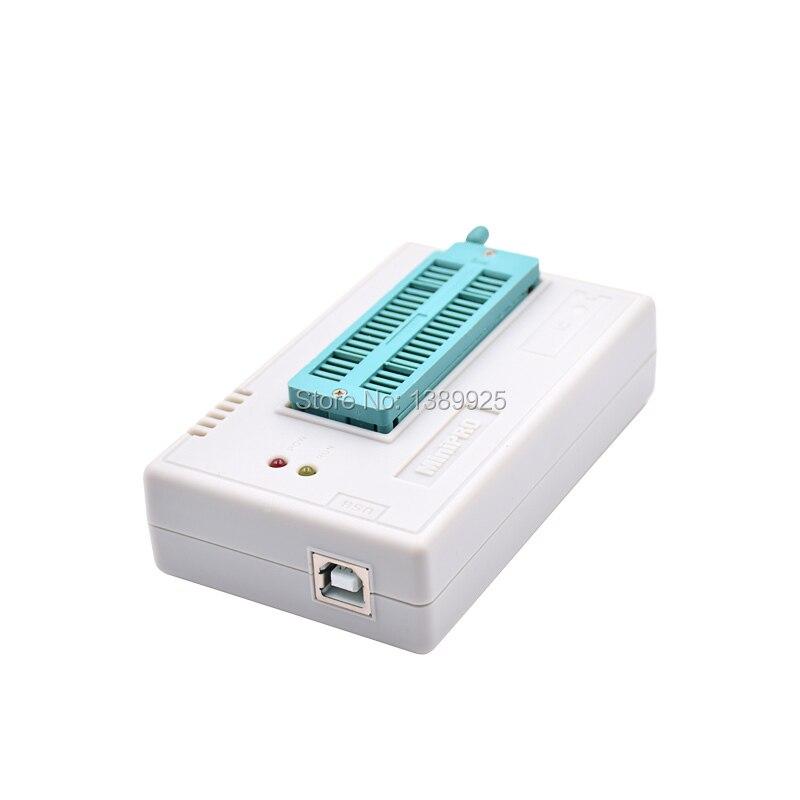 100% Original 2018 NEW mini pro TL866II PLUS usb programmer +9 items IC Adapters