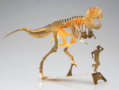 3D Jigsaw DIY Laser Cut T. Rex Skeleton Model toys for Kids/Adult Educational Puzzles Toys Gifts