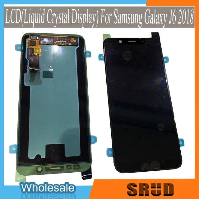 מקורי AMOLED 5.6 LCD עבור סמסונג גלקסי J4 J4 בתוספת J6 J6 בתוספת J8 2018 גרסה