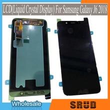 Orijinal AMOLED 5.6 LCD ekran ekran meclisi için Samsung Galaxy J4 J4 artı J6 J6 artı J8 2018 sürümü