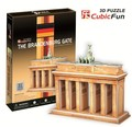 Candice guo! 3D puzzle toy CubicFun paper model jigsaw game C712H the Brandenburg gate 1pc