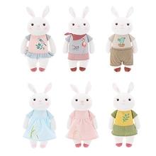 Orignal Metoo tyra m kanin docka kreativa mjuka plysch leksaker docka storlek lång 34cm underbar söt kanin