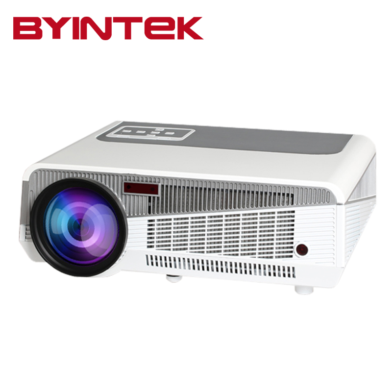 2016 BYINTEK Home Theater Projector BL106 full hd 1280x800 1080P Movie Rear <font><b>Blu</b></font> <font><b>Ray</b></font> Game USB Video HDMI USB LCD LED Beamer