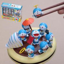 Fashion Japanese Anime Cute Action Figures Cheap Wholesale Toys Diy New Style 2016 Doraemon Mini Model Dolls