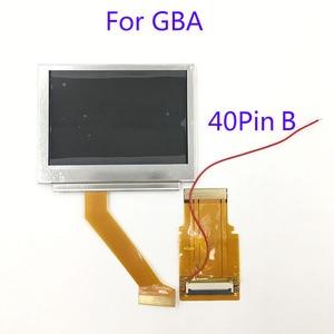 Image 5 - Nintendo GameBoy Advance GBA SP Için LCD Ekran AGS 101 Highlit Ekran LCD OEM Arkadan Aydınlatmalı Parlak ile 40pin 32pin şerit kablo