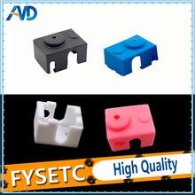 3pcs/lot V6 Silicone Sock 3D Printer Support V6 PT100 Original /non-Official J-head 1.75/3.0mm Heated Block Extruder RepRap