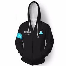 Sweatshirts Detroit: Become Human Connor RK800 Men Women Hoodies Autumn Winter