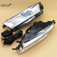 Car LED Light For Skoda Rapid 2013 2014 2015 2016 2017 Car Styling Front LED DRL Daytime Running Light And Fog Lamp Fog Light