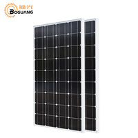 Boguang 200 w sistema de energia solar kit 2*100 w painel solar Monocristalino módulo Fotovoltaico célula de silício para casa ao ar livre carga de energia