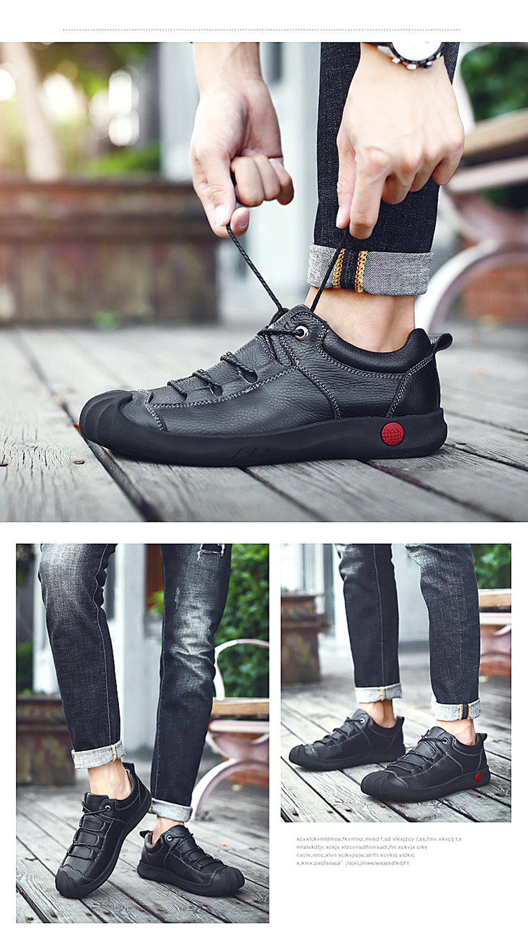 bf0e81465d8 HOT SALE] CLAX Men Work Boots Genuine Leather Spring Autumn Casual ...