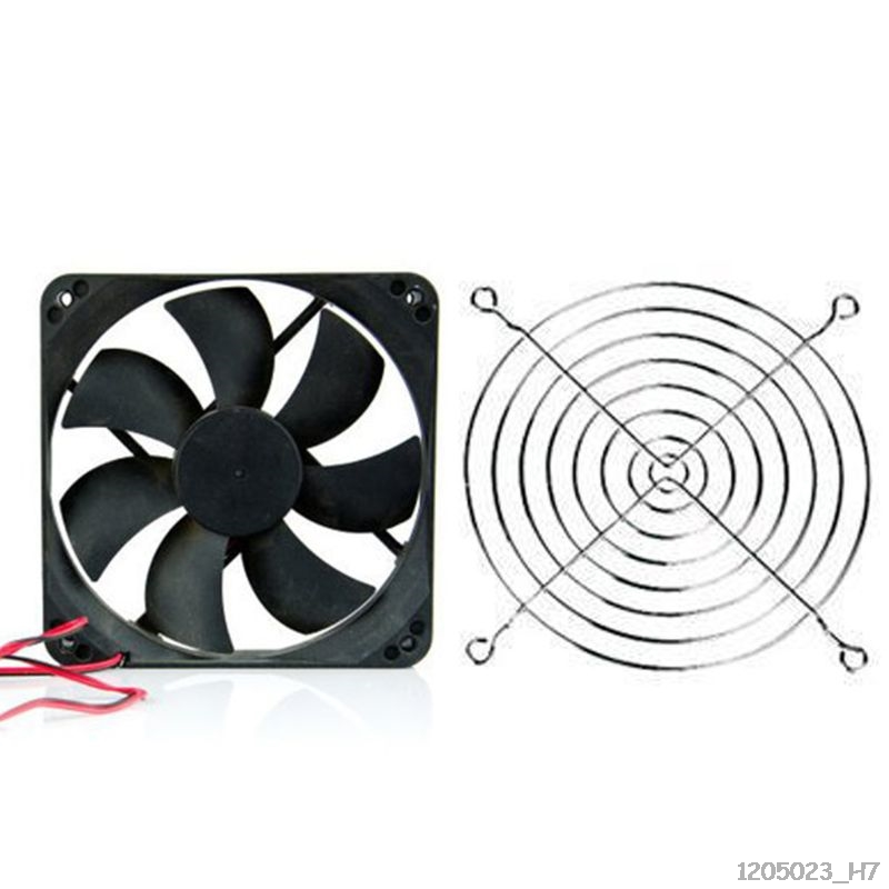 Axial Flow Fan Cover Metal Wire For CPU Fan DC Fan Protector Protective Covers Universal For Electric Machine