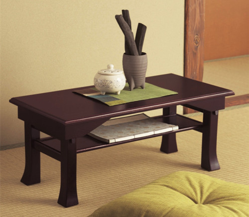 Buy japanese desk table folding leg 60 for Traditional japanese furniture