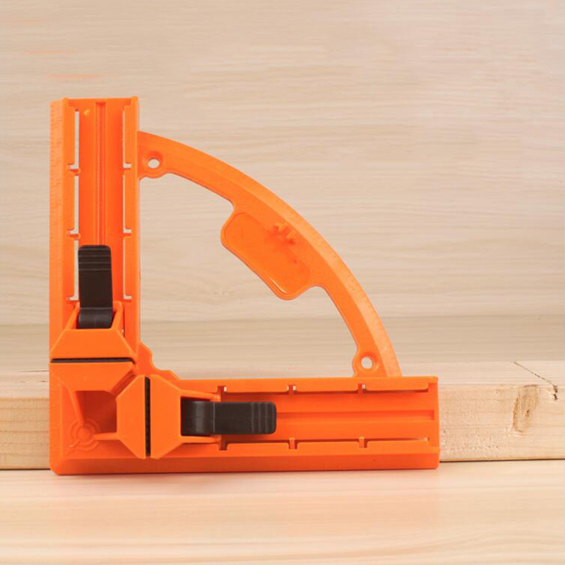 90 Degree Right Angle Clamp Ruler Wood Woodworking Measuring Instrument