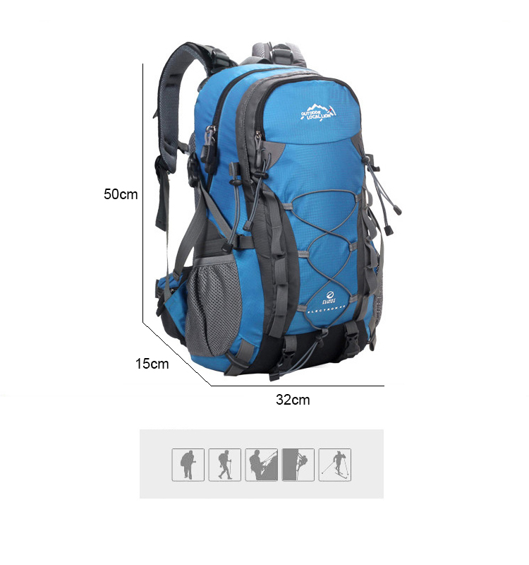 Unisex Waterproof Hiking Backpack