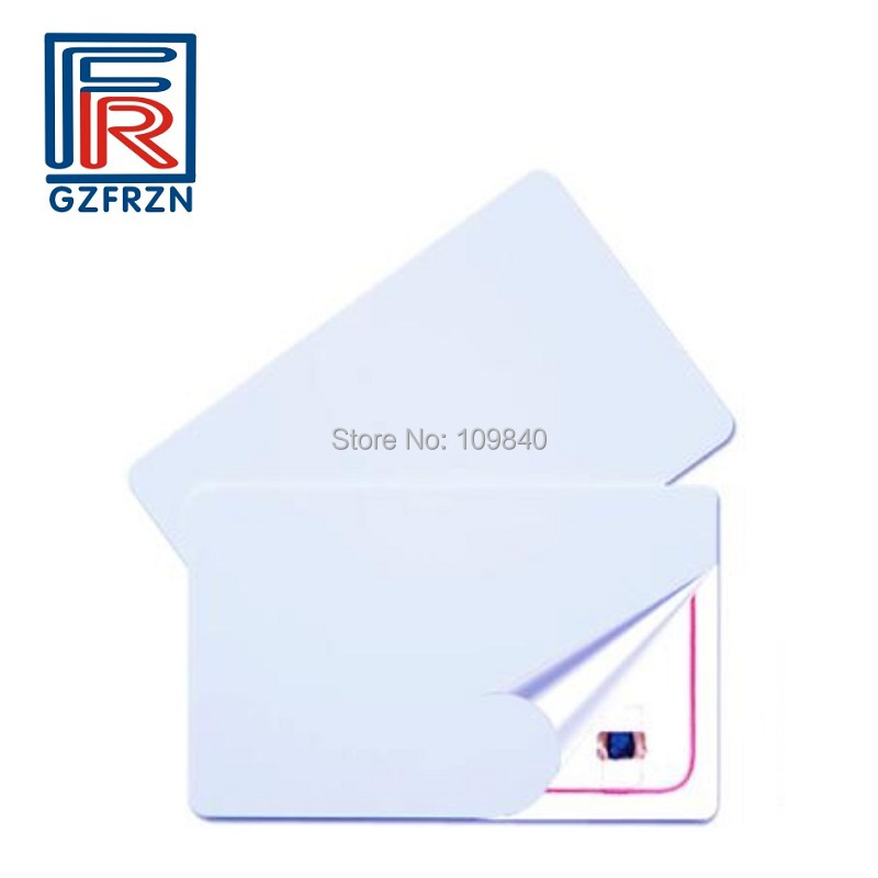 13.56mhz uid writable card Block 0 sector zero RFID PVC blank white cards for M1 f08 chip floding elegant design white laser cut wedding card kit blank inside paper printing invitations cards casamento para convite