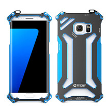 Phone case For Samsung Galaxy S7 / S7 Edge Aluminum Aviation Cases Armor Shell Original R-Just S7 Edge Gundam Metal Cases