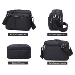 Image 3 - DECRJI 2020 Fashion Men Nylon Messenger Bag Waterproof Style Male Shoulder Crossbody Bags Designer High Quality Bolsa Masculina