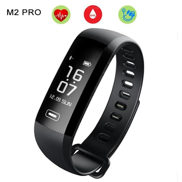 M2 Pro Smart Wristband Activity Fitness Bracelet Watch Heart Rate Monitor Blood Pressure Oxygen Band 50 Word PK xiaomi mi band 2
