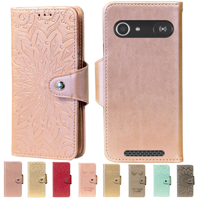 new style a9edf 3304b US $4.24 15% OFF|Embossing Stand Flip PU Leather wallet Case Cover For Doro  8030 8031 8040 Liberto 825 820 Mini -in Flip Cases from Cellphones & ...