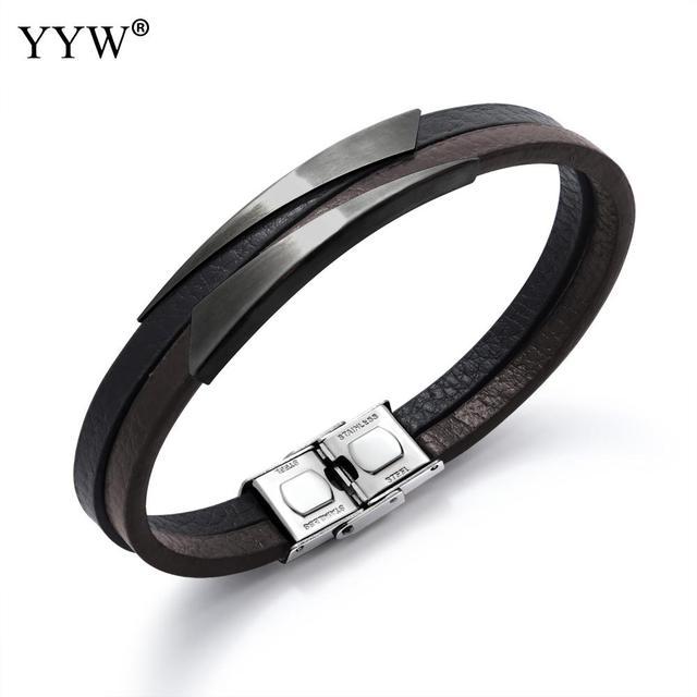 Titanium Steel Bracelet Men...