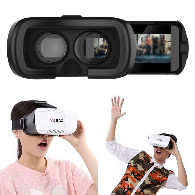Juego 3d movie game gafas de realidad virtual de cartón vr vr gafas caja  gafas de 2fc9691fe3c6