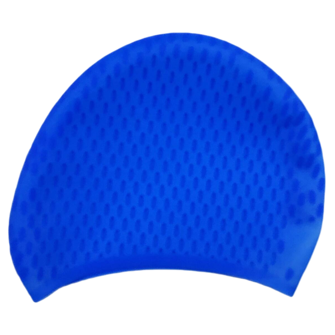 Hot Sell Multicolor Silicone Swimming Hat Cover Protect Ear Long Hair Waterdrop Swimming Caps