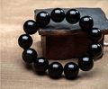 Free Shipping Natural crystal black agate bracelet To ward off bad luck and Men's natural crystal bracelet accessories wholesale