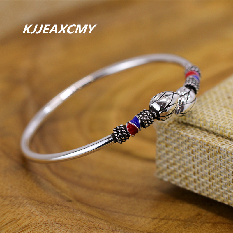 KJJEAXCMY 990 silver bracelet Retro Style Bracelet Adjustable Adjustable Bracelet lotus female BraceletKJJEAXCMY 990 silver bracelet Retro Style Bracelet Adjustable Adjustable Bracelet lotus female Bracelet