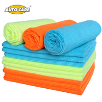 12Pcs Microfiber Car Wash Towel Car Cleaning Cloth Car Waxing Polishing Drying Detailing Car Care Kitchen