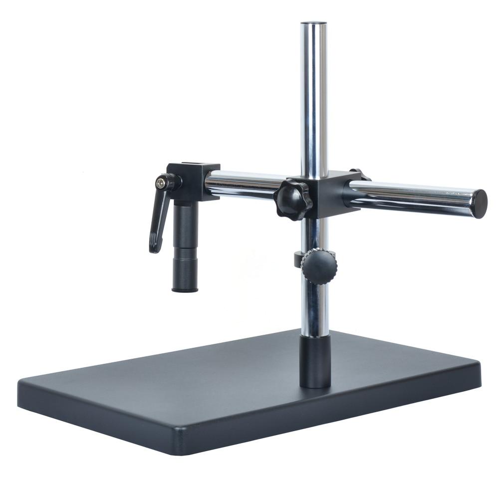 Support universel de grande taille support de Table réglable + bras métallique réglable multi-axes pour caméra de Microscope de l'industrie de laboratoire