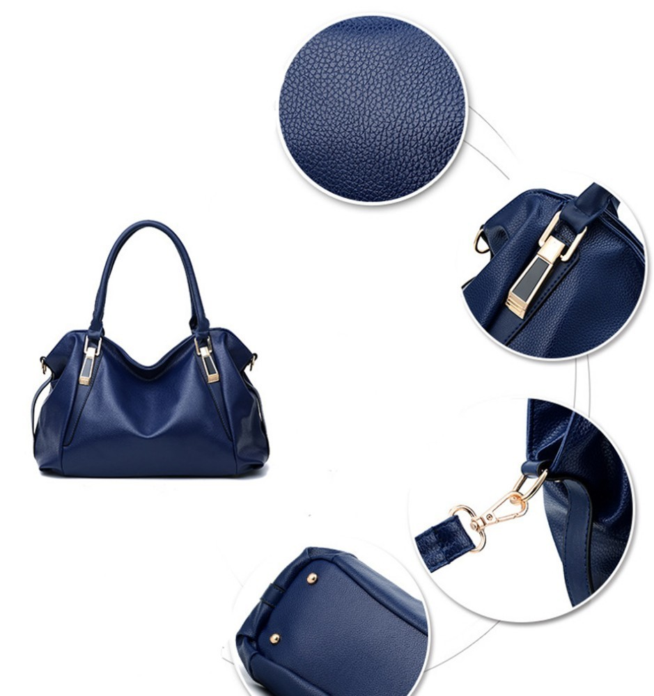 Hazy beauty Women Handbag Female PU Leather Bags Handbags Ladies Portable Shoulder Bag Office Ladies Hobos Bag Totes 65