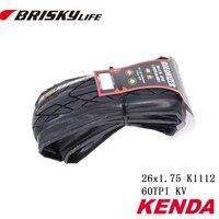 Free Shipping Kenda High Quality Mountain Bikes Folding Tires 26x1 75 Bikes