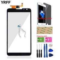 YRFF 6 1 Mobile For Huawei Mate 2 II 4G Front Touch Screen Glass Touch Digitizer