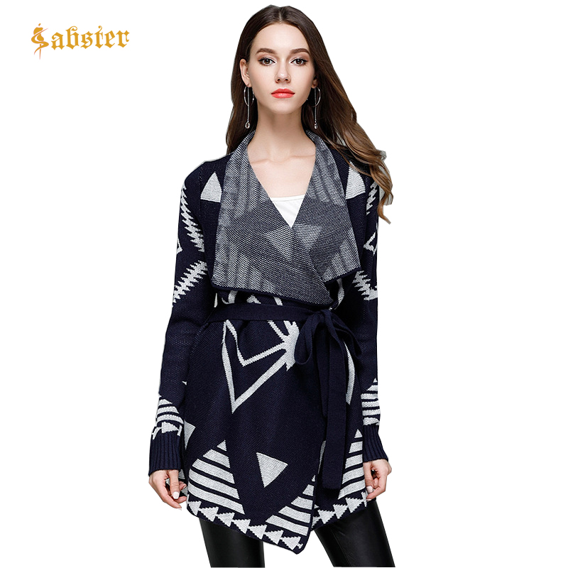 Long Sleeve Sweater Womens Autumn Winter Fashion New Style High Quality Women Cardigan Sweaters Female Print Knit Warm Sweate ...