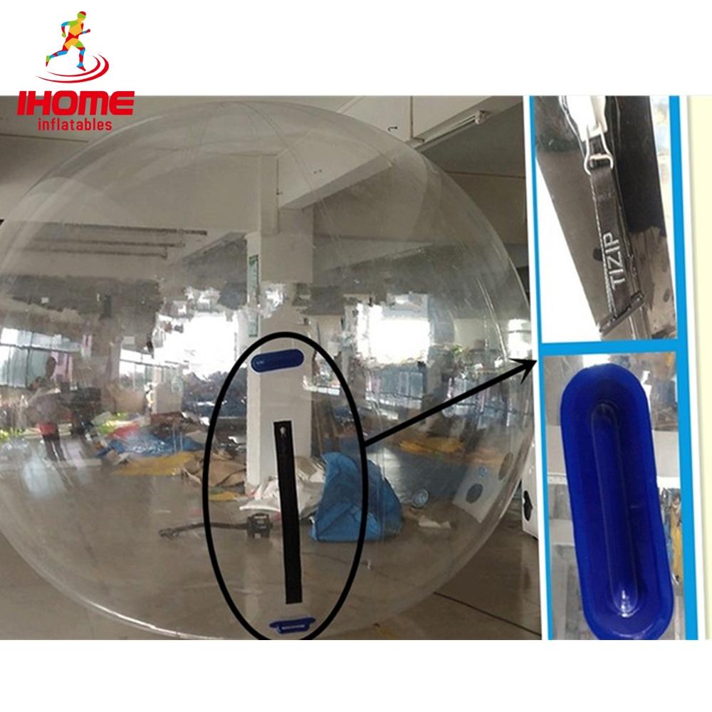 JIA INF 2m PVC zorb kamuolys zorb pripučiamas kamuolys vandens pėsčiomis kamuolys
