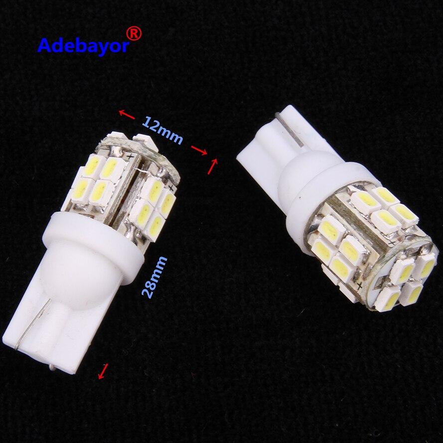 20xt10 dc12v 194 w5w 20 smd led 3014 3020 auto led cunha luzes da placa de licença lâmpadas sinal de volta marcador lâmpadas 1206 cúpula adebayor