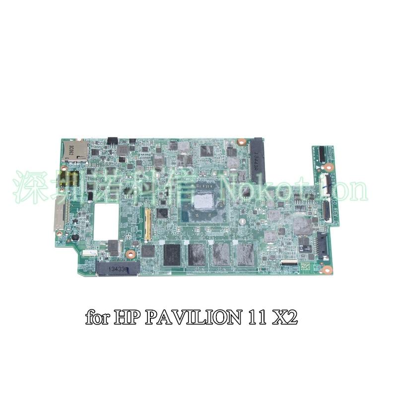 NOKOTION DA0W03MBAI0 754648-501 754648-001 754648-001 For HP Pavilion X2 tablet motherboard SR1SF N2920 CPU onboard nokotion 741030 501 741030 001 laptop motherboard for hp split x2 11 h sr1sf n2920 cpu onboard da0w03mbah0