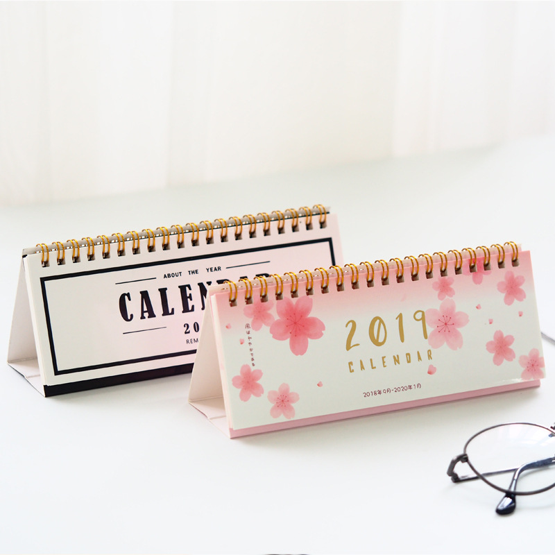 Hearty 2019 Simple Series Perpetual Calendar Diy Desktop Calendar Agenda Organizer Daily Schedule Planner Office & School Supplies