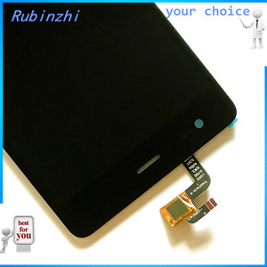 Image 2 - RUBINZHI Com Fita Ferramentas Display LCD Do Telefone Móvel Para Tele2 Maxi Plus Screen Display LCD Com a Montagem da Tela de Toque
