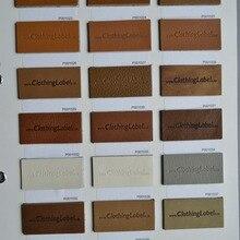 Пользовательские кожаные ярлыки каталог, натуральная кожа, искусственная кожа, замша кожа