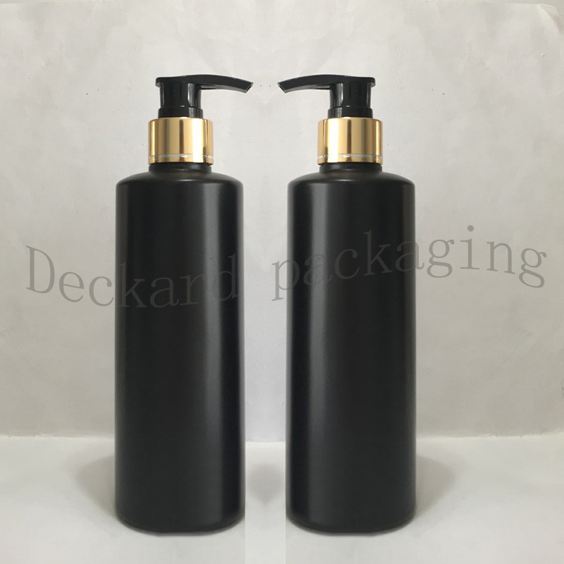 20pcs 300ml Shower Gel gold collar Pump Containers,Lotion