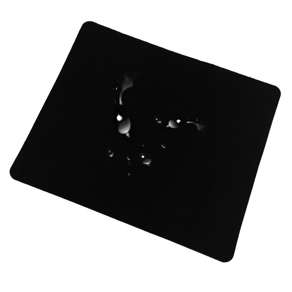 Drop Shipping 22*18cm Universal Black Slim Square Gaming Mouse Pad Mat Mouse Pad Muismat For Laptop PC Computer Tablet