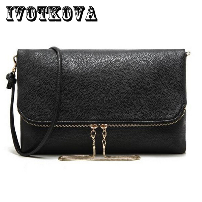 IVOTKOVA Fashion Design Women Messenger Bag Female Solid Pu Leather Small Shoulder Bags Women Clutch Bag Bolsa Feminina pu leather women messenger bag leather shoulder bag women cross body tote bags fashion clutch bag bolsa feminina