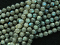 Free Shipping Natural Grade A Labradorite 9 9 5mm Blue Light Smooth Round Loose Beads For