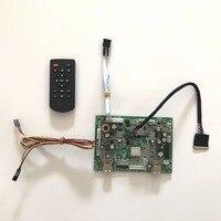 6M182VGสากลUSB Media playerคณะกรรมการชุดสำหรับ11.6นิ้ว1366x768 B116XW03 40ขาLED Monitorซ่อมDIY