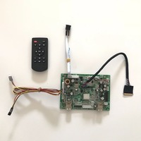 6M182VG Universal USB Media Player Board Kit For 11 6 Inch 1366x768 B116XW03 40 Pin LED