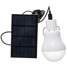 Useful Energy Conservation S-1200 110LM Portable Led Bulb Light Charged Solar Energy Lamp Home Outdoor Lighting white light