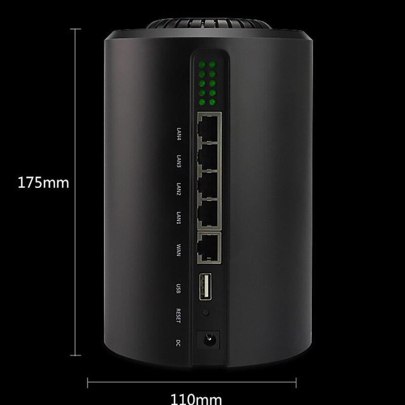 Nouveau répéteur de routeur WiFi sans fil double bande AC1200 2.4G/5.0 GHz réseau intelligent openWRT routeurs wi-fi dispositif pare-feu