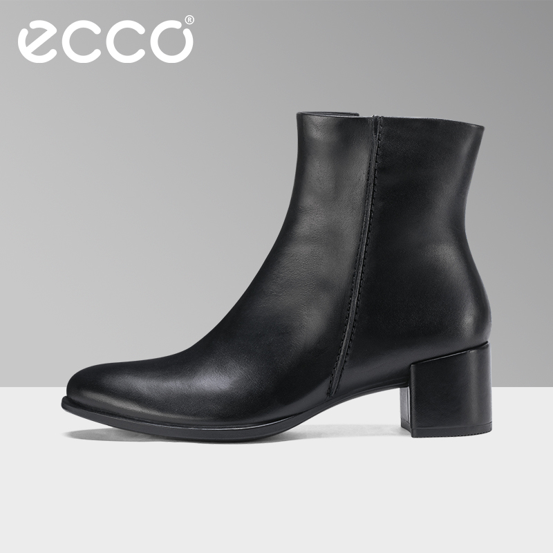 2018 ECCO Autumn Fashion Women Boots Pointed Toe Genuine Leather Martin Boots Classic Retro Ankle Boots Casual Women Shoes недорго, оригинальная цена