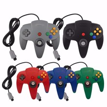 HAOBA Classic Wired N64 Game controller joystick Console for Nintendo N64 host special gaming Gamepad
